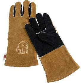 Nordisk Torden Gloves, bruin/zwart